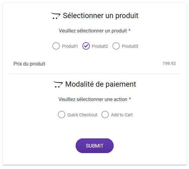 WooCommerce conditionnel et paiement direct